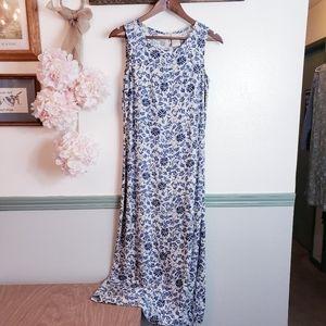 EXPRESSIONS Vintage Cottagecore Maxi Dress Sz 8